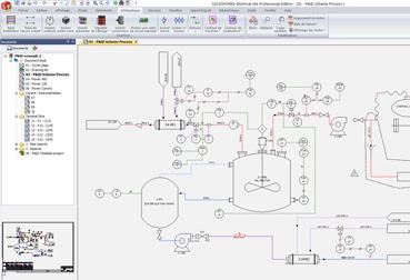 schematique-fluidique-solidworks