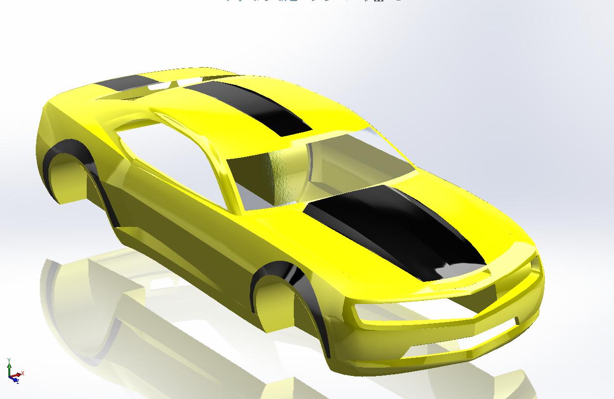 avatar – développé surfaces solidworks
