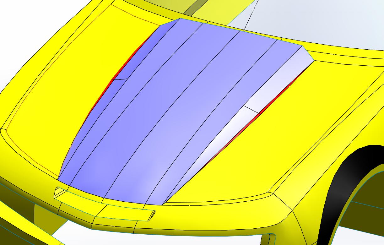 développé surfaces solidworks 10