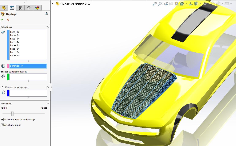 développé surfaces solidworks 3