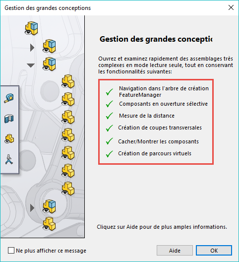 gros assemblages solidworks
