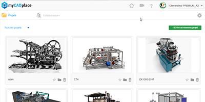 avatar- partage fichiers CAO 3D