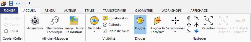 digger solidworks composer
