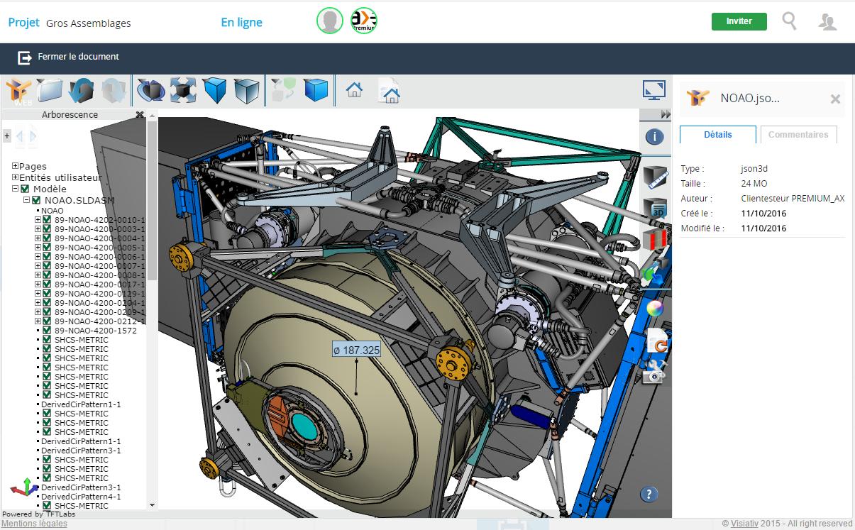 myCADplace3 partage fichiers 3D