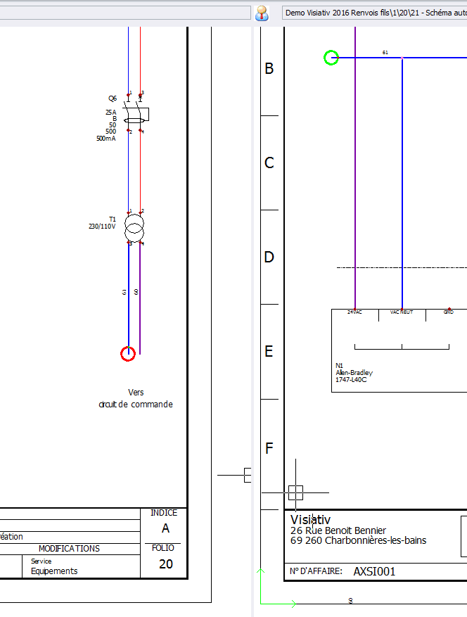 renvois de fils solidworks electrical 12