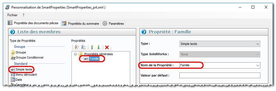 compteurs automatiques myCADtools SOLIDWORKS