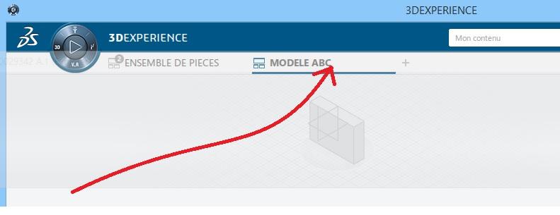 gestion d'affichage des contenus dans CATIA 3DEXPERIENCE