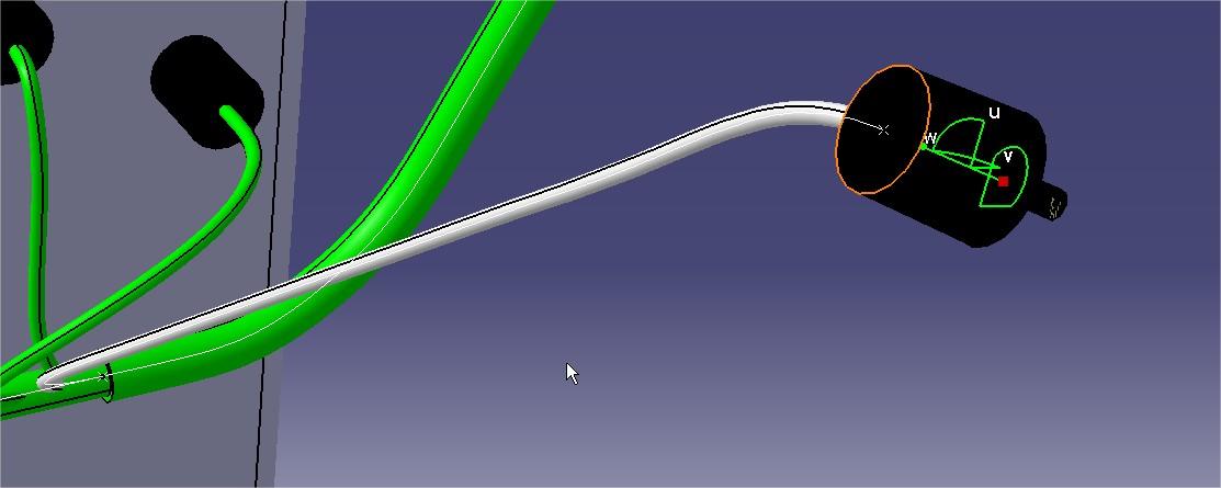 Comment définir la bonne longueur de câble avec CATIA V5 EHI