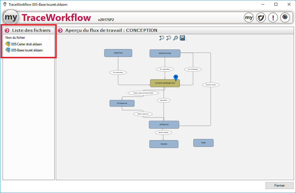traceworkflow