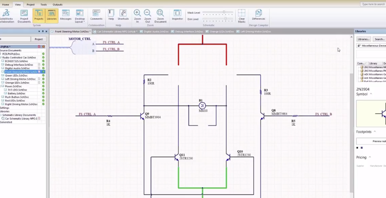 Video-solidworks-pcb-schematique-mycad