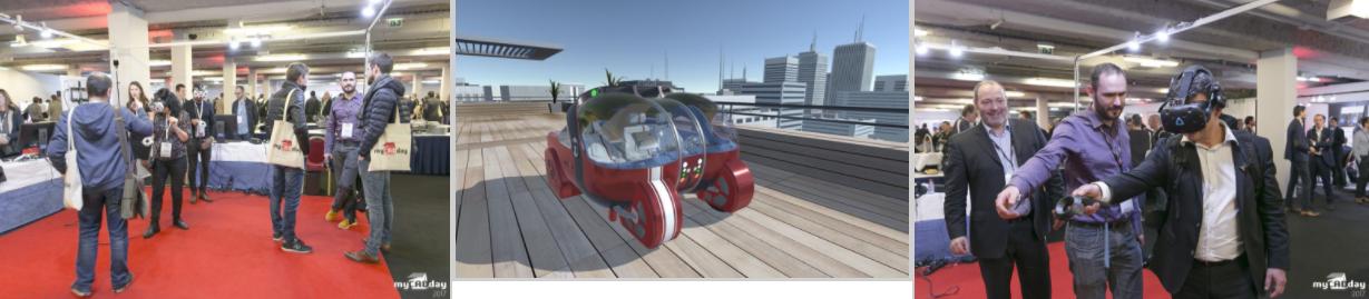 réalité virtuelle mycadday 2017