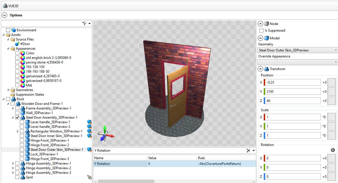 afficher un modèle 3D dans un configurateur Web