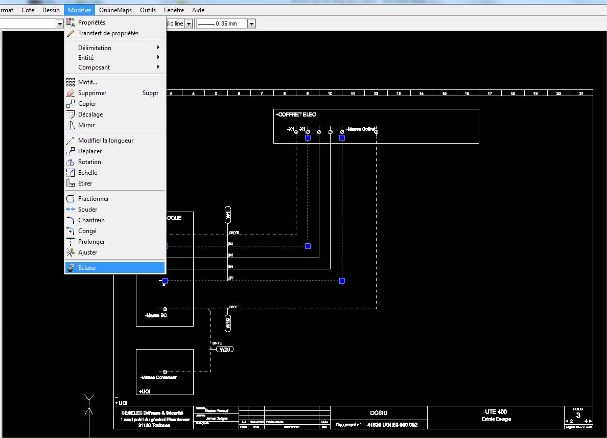 pdf dans solidworks electrical