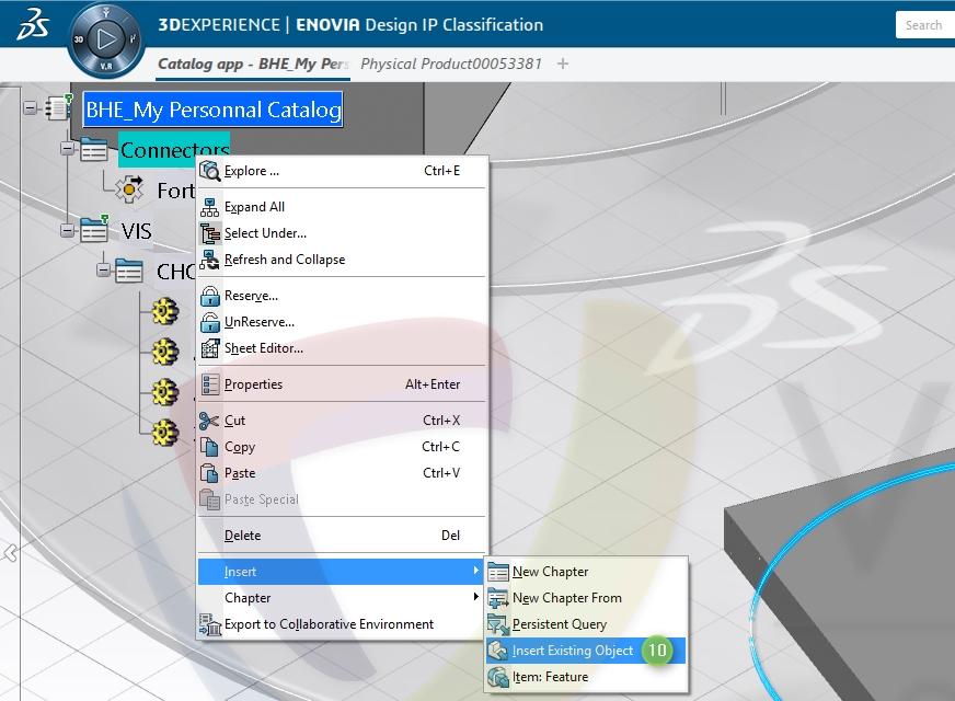 Construire une bibliothèque électrique CATIA 3DEXPERIENCE