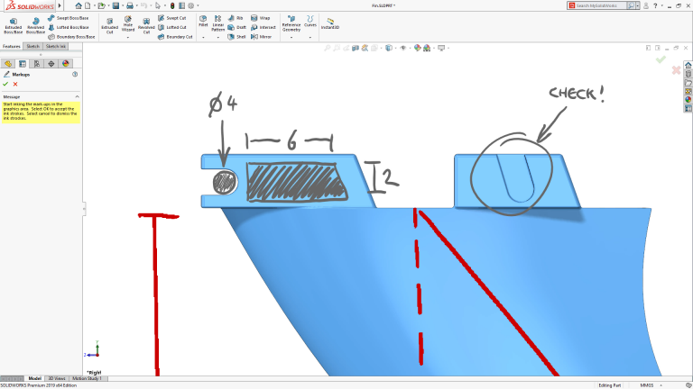 solidworks 2019 annotations 3D