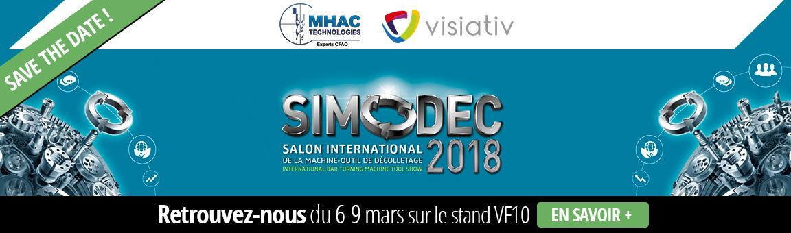 bannière SIMODEC Mhac Techno 2018