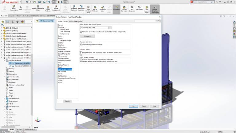 toolbox solidworks 2019