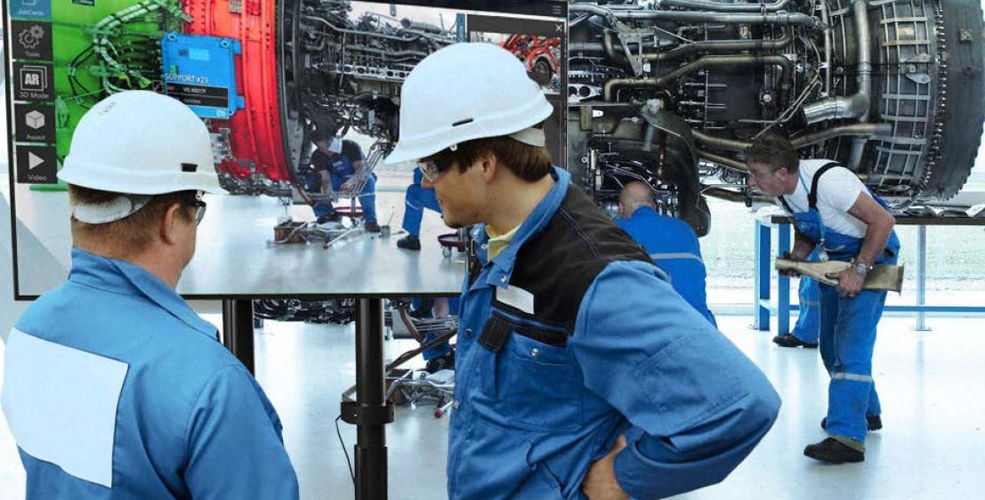 réalité augmentée dans l'industrie