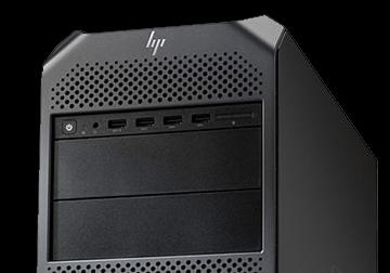 HP Z4 top