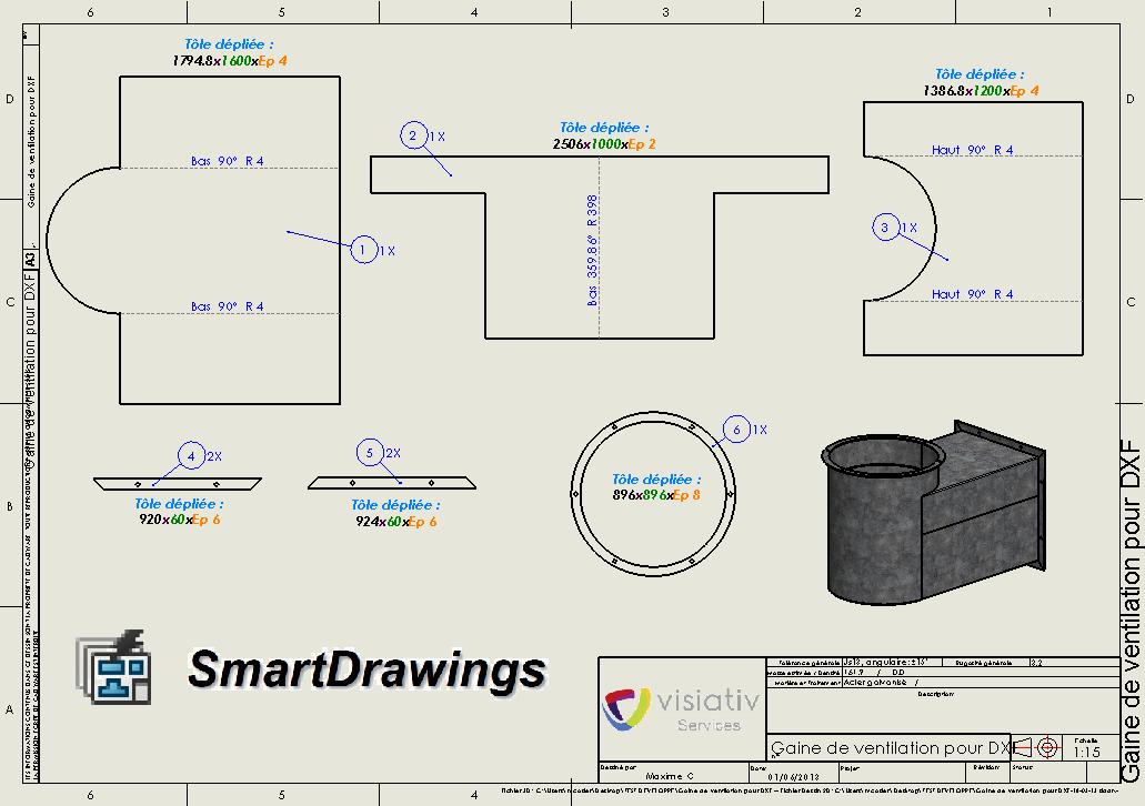 nouveauté solidworks smartdrawing