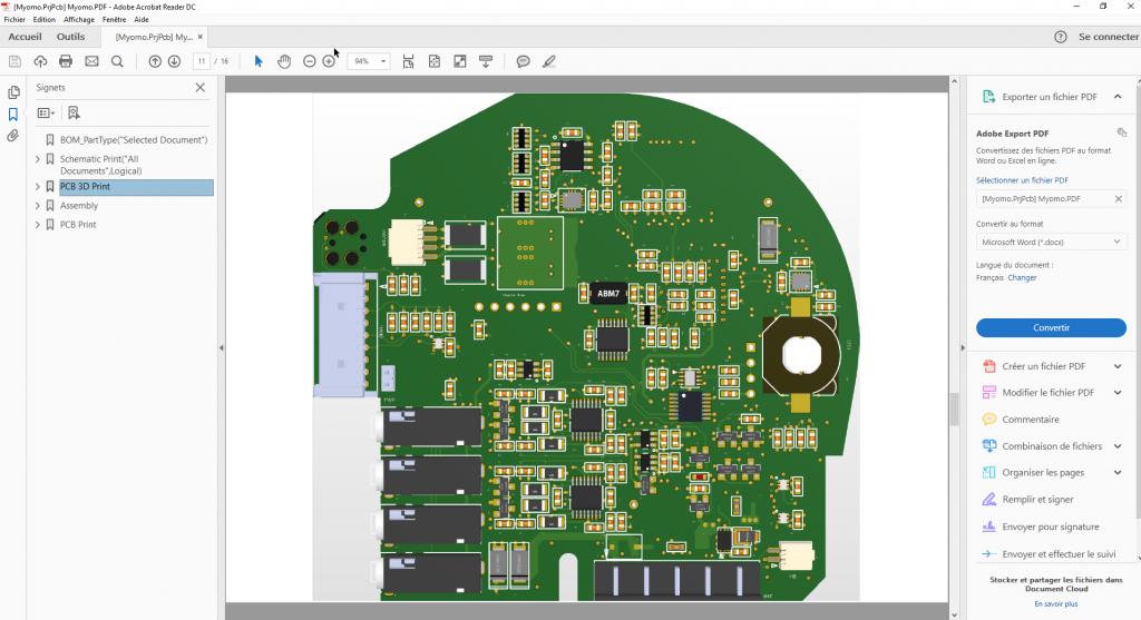 cartes électroniques avec SOLIDWORKS PCB