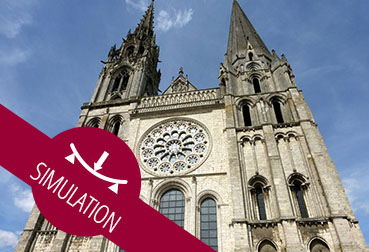 Chartres-simu