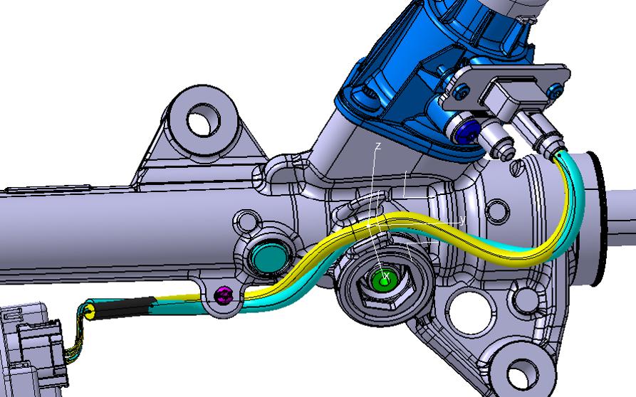 Conception de faisceaux catia electrical design