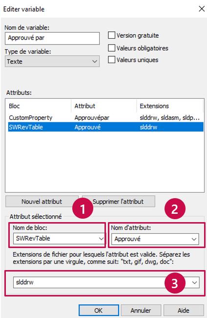 4 étapes pour connecter votre table de révision à votre historique SOLIDWORKS PDM