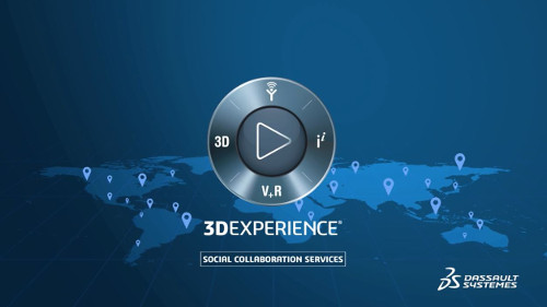 VS – 3DEXPERIENCE Social collaboration services video