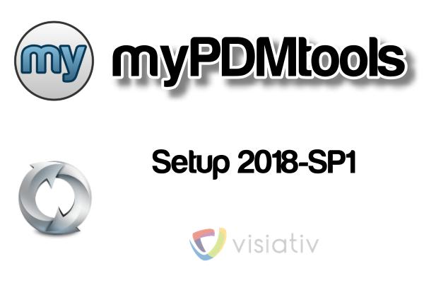 myPDMtools 2018 SP1