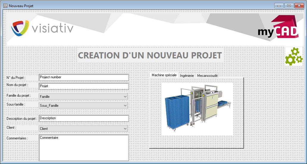créer un modèle de structure PDM