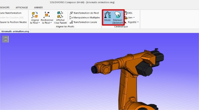 contraintes solidworks composer