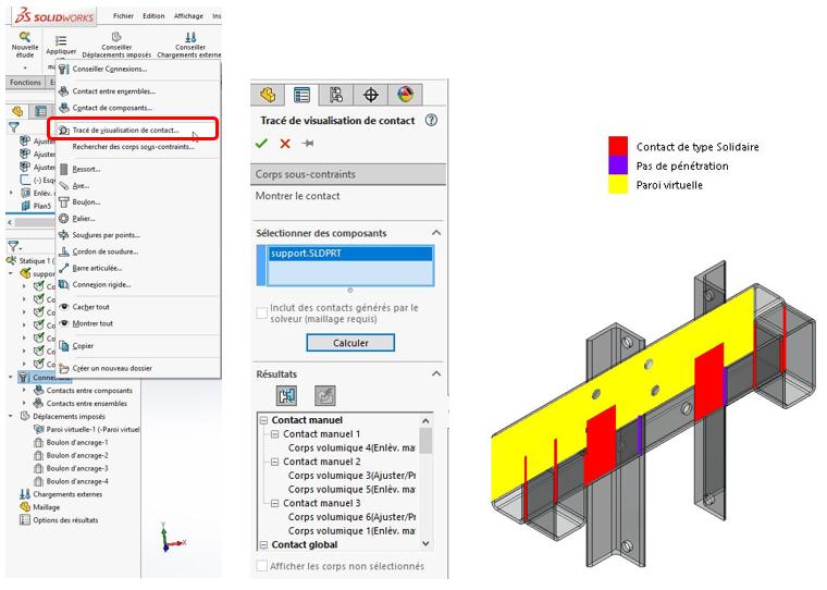 Simulation statique linéaire 5 problèmes courants et leur solution dans SOLIDWORKS