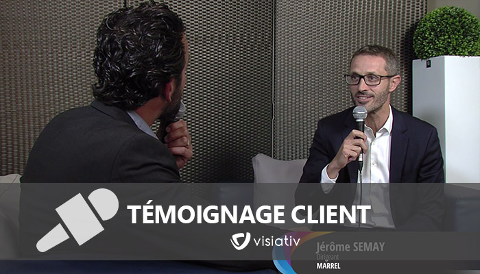 témoignage clients marrel jerome semay visiativ