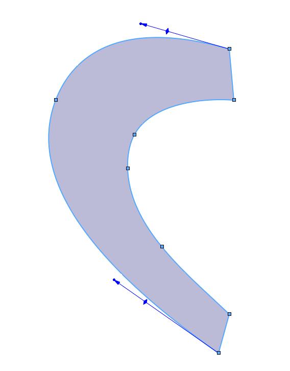 ligne médiane d'une surface avec SOLIDWORKS