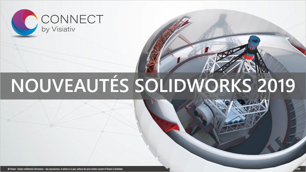 Formation Nouveautés SOLIDWORKS 2019 disponible dans l'espace myCADlearning de myCADservices Premium