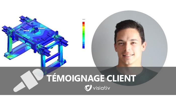 témoignage clients solidworks simulation professional acimex kevin veteau