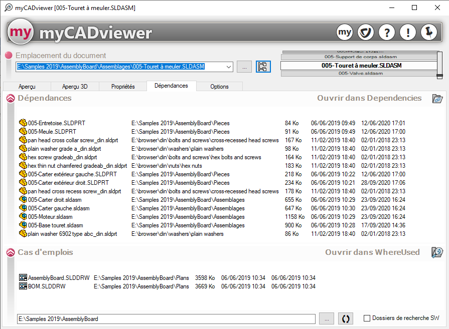 nouvel outil myCADviewer