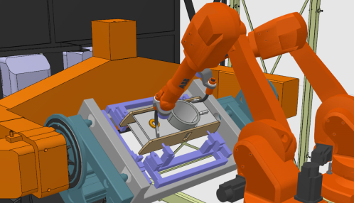 Simulation robotique