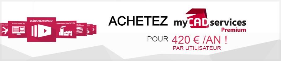 Achat myCADservices Premium