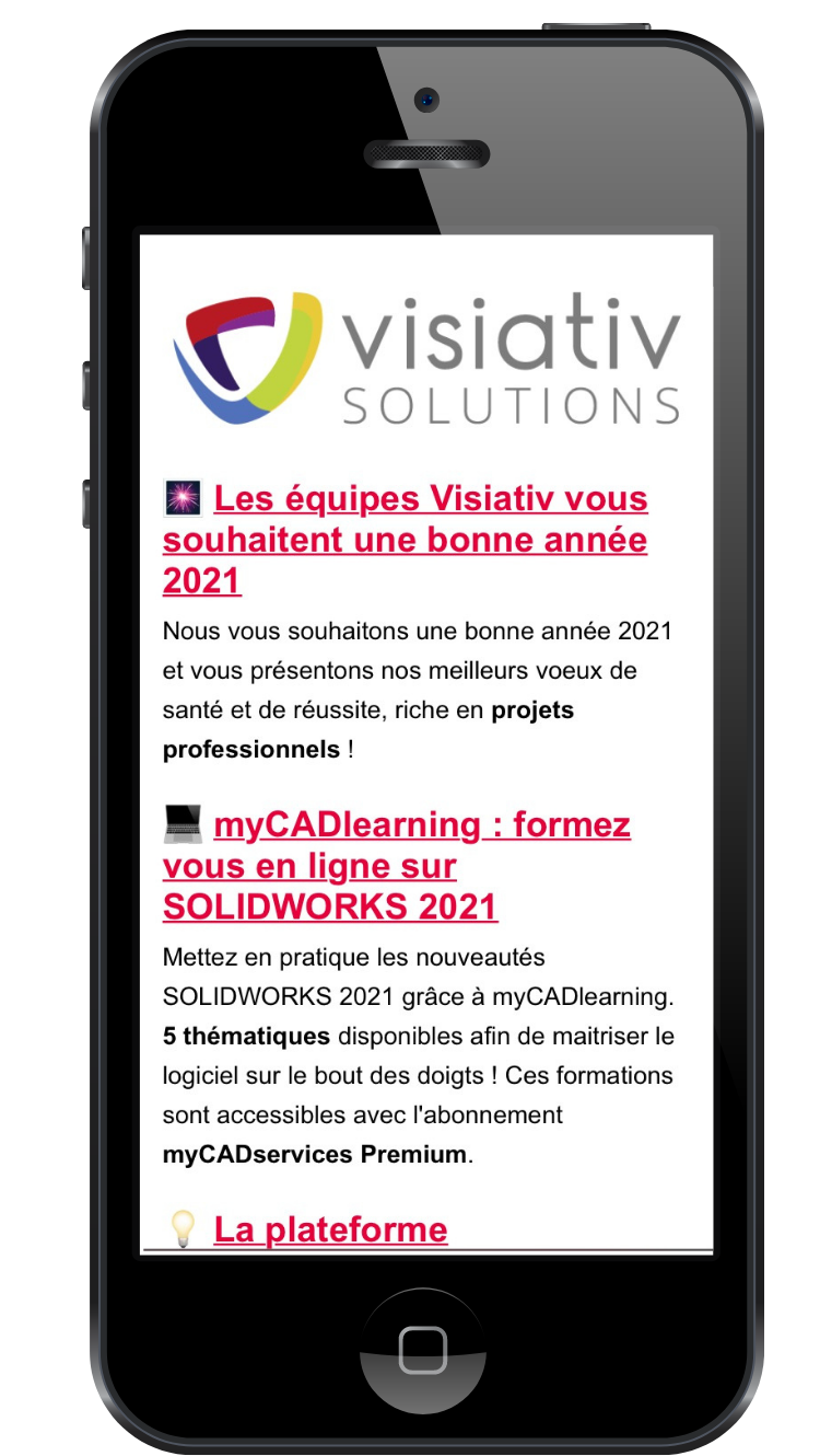 newsletter Visiativ Solutions
