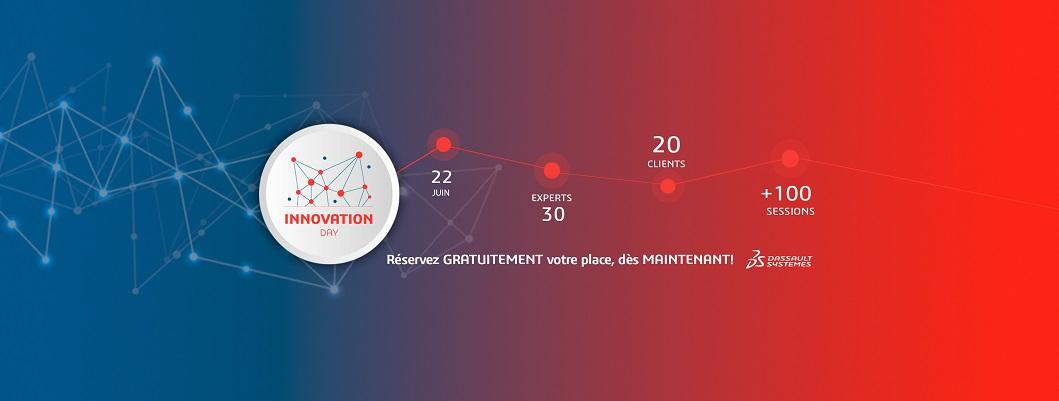Bannière Innovation Day 2021