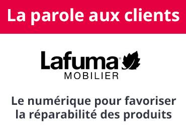 LAFUMA MOBILIER : le numérique au service de la réparabilité des produits